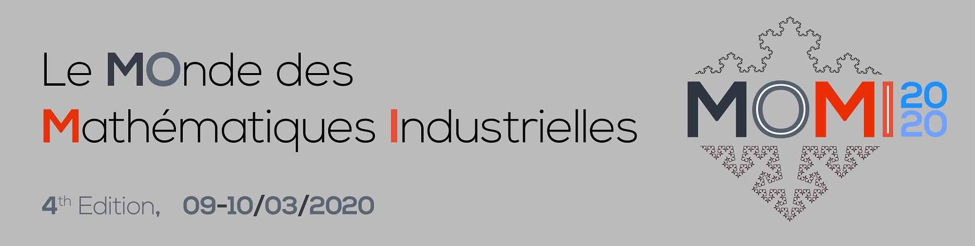 MOMI2020: Le Monde des Mathematiques Industrielles